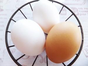 新鮮な卵を使う