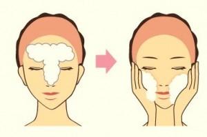 洗顔洗い方
